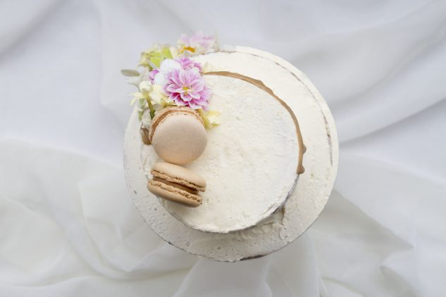 Real Rustic Food Wedding Cake