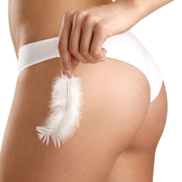 Image of woman - bikini wax