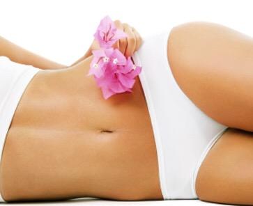 Hollywood Waxing Image - Woman in White bikini