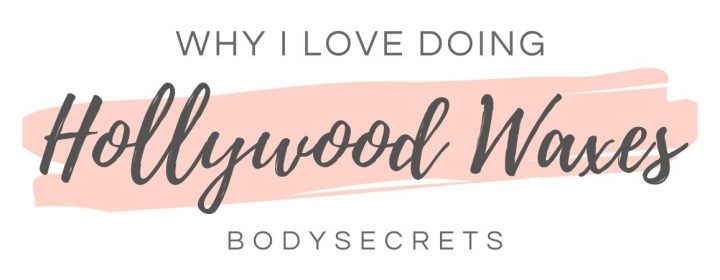 Why I love hollywood waxing - graphic