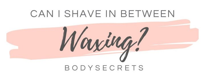 Can i shave between waxes infographic