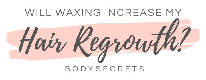 Will waxing make my hair grow back worse? Infographic
