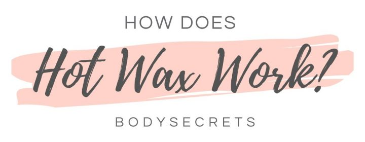 how does hot wax work - infographic